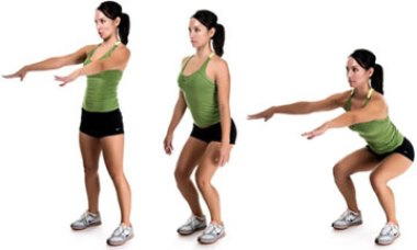 Image result for Squats exercise